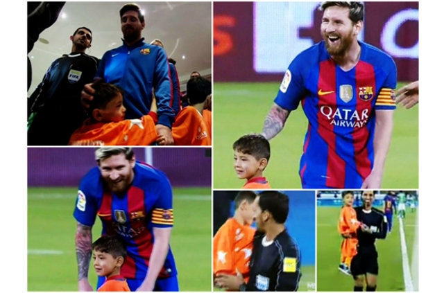 Messi ile büyük buluşma! 11