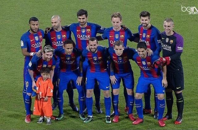 Messi ile büyük buluşma! 12