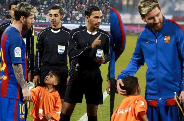 Messi ile büyük buluşma! 2