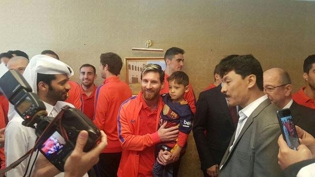 Messi ile büyük buluşma! 3