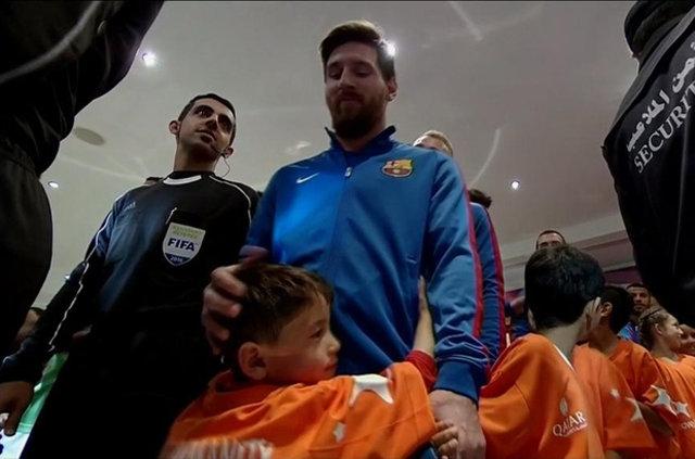 Messi ile büyük buluşma! 6