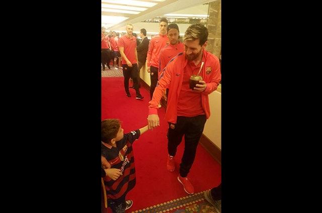 Messi ile büyük buluşma! 7