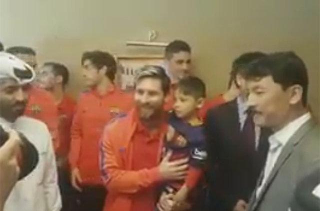 Messi ile büyük buluşma! 8
