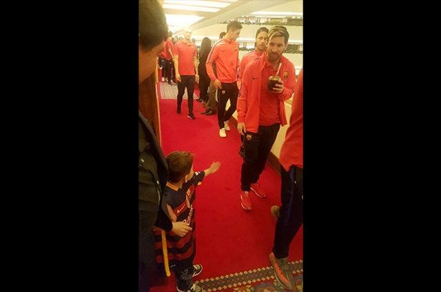 Messi ile büyük buluşma! 9