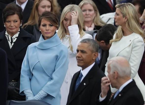 Donald Trump'ın yemin töreninden çarpıcı kareler 15