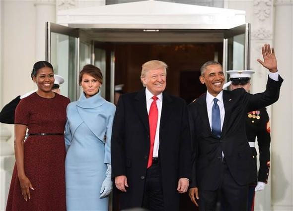 Donald Trump'ın yemin töreninden çarpıcı kareler 19