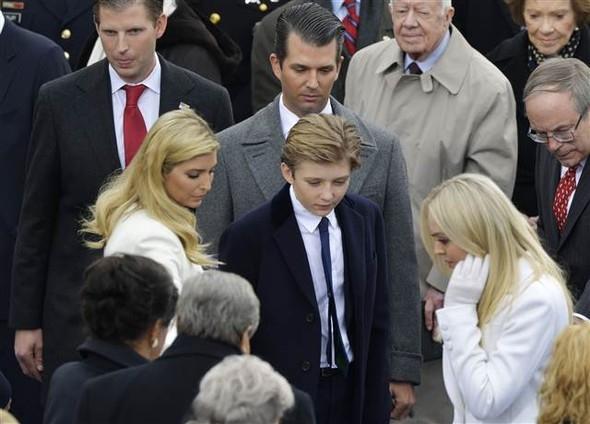 Donald Trump'ın yemin töreninden çarpıcı kareler 21