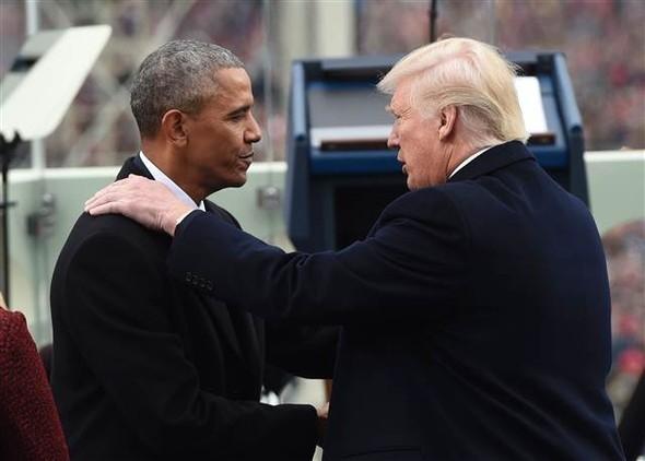 Donald Trump'ın yemin töreninden çarpıcı kareler 23