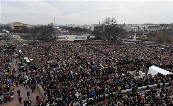 Donald Trump'ın yemin töreninden çarpıcı kareler 24