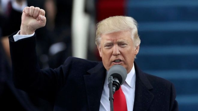 Donald Trump'ın yemin töreninden çarpıcı kareler 4