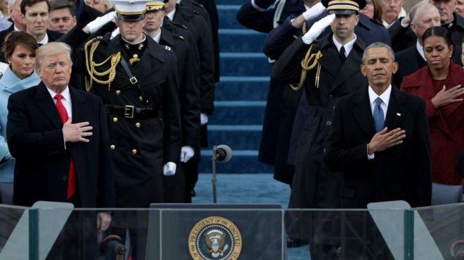 Donald Trump'ın yemin töreninden çarpıcı kareler 9