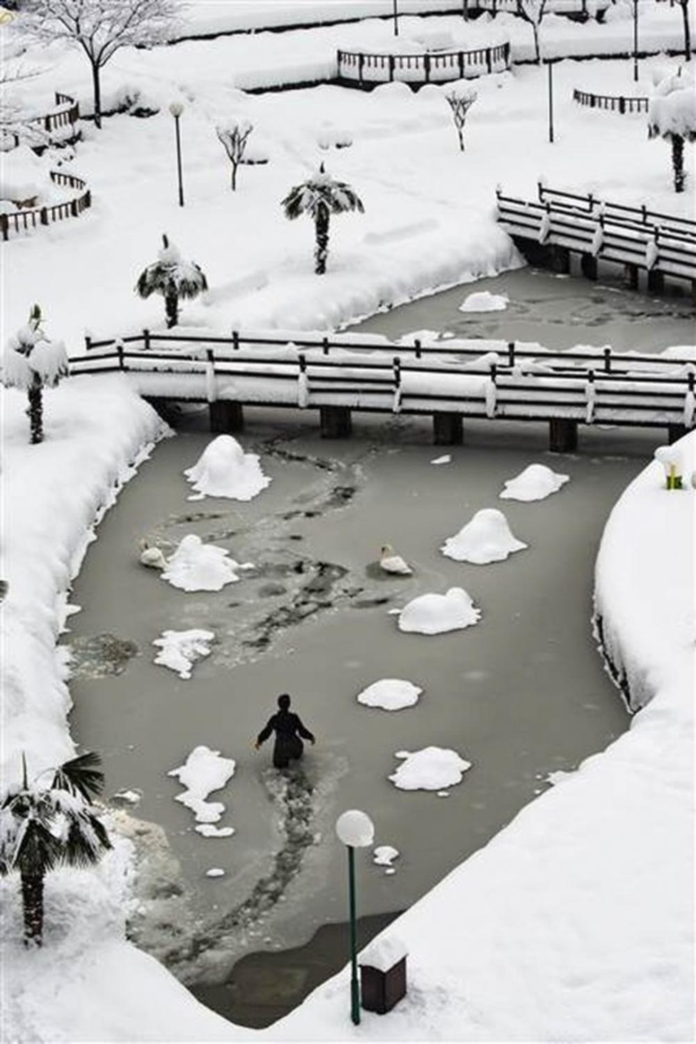 Soğuk günlerde yürek ısıtan haber 9