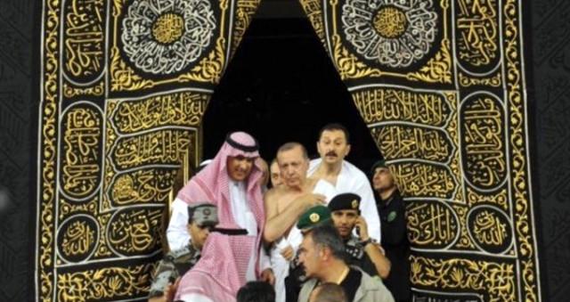 Erdoğan umreye gitti 5
