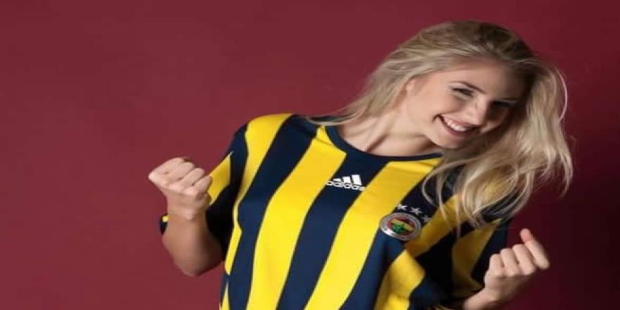 Dünyaca ünlü Fenerbahçeli manken