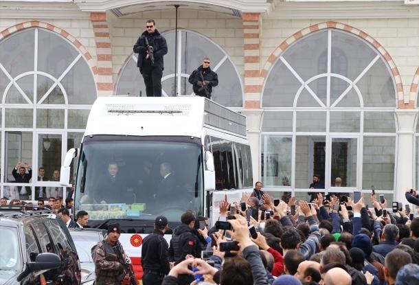 Cumhurbaşkanı Erdoğan Konya'da 1