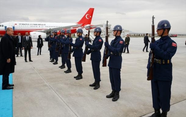 Cumhurbaşkanı Erdoğan Konya'da 2