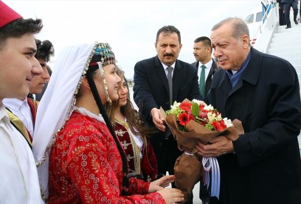 Cumhurbaşkanı Erdoğan Konya'da 8