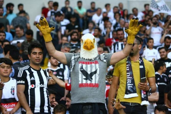 Beşiktaş'ın şampiyonluk maçından kareler 1