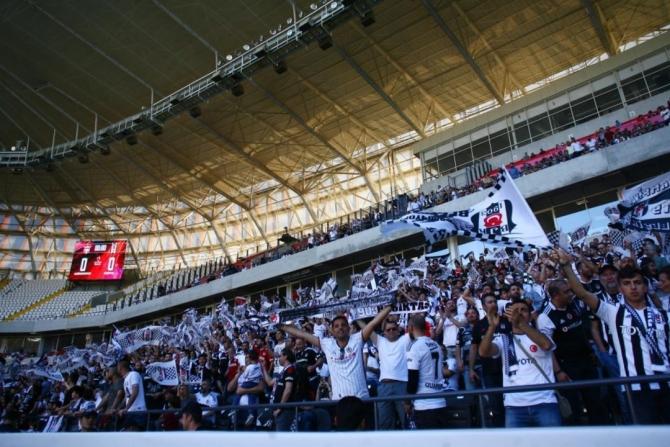 Beşiktaş'ın şampiyonluk maçından kareler 10