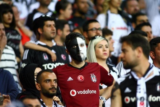Beşiktaş'ın şampiyonluk maçından kareler 11