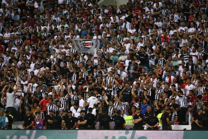 Beşiktaş'ın şampiyonluk maçından kareler 16