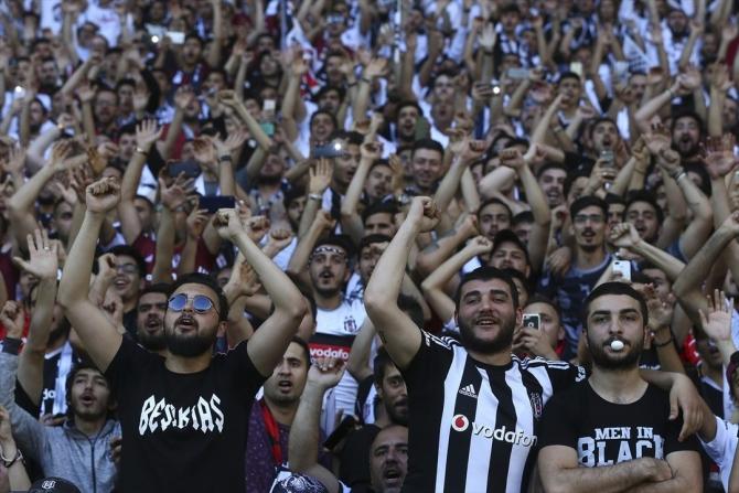 Beşiktaş'ın şampiyonluk maçından kareler 17