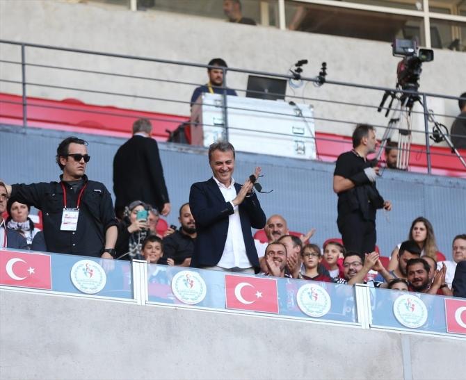 Beşiktaş'ın şampiyonluk maçından kareler 19