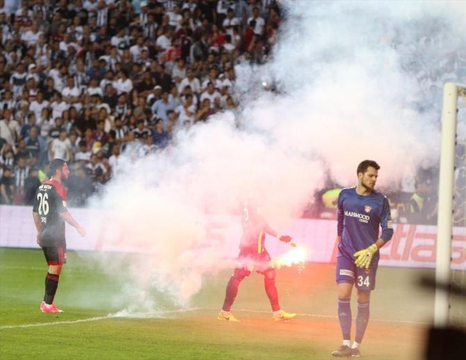 Beşiktaş'ın şampiyonluk maçından kareler 24