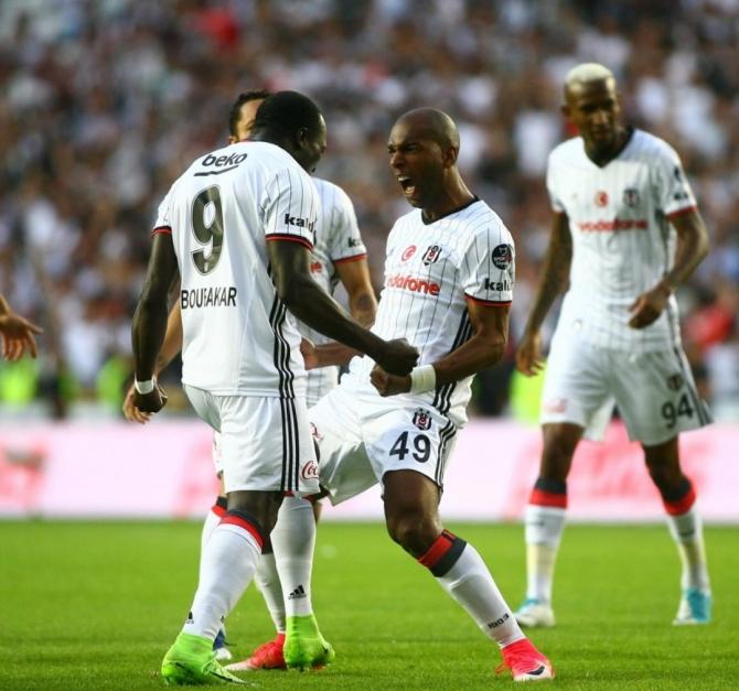 Beşiktaş'ın şampiyonluk maçından kareler 3