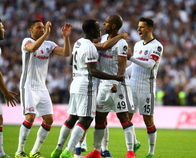 Beşiktaş'ın şampiyonluk maçından kareler 5