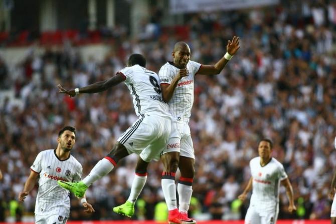 Beşiktaş'ın şampiyonluk maçından kareler 6