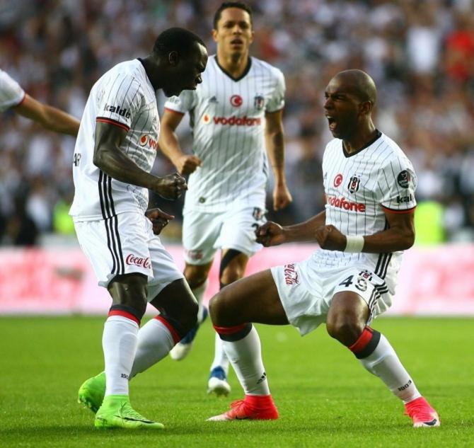 Beşiktaş'ın şampiyonluk maçından kareler 7