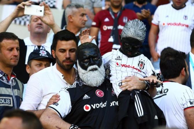 Beşiktaş'ın şampiyonluk maçından kareler 8
