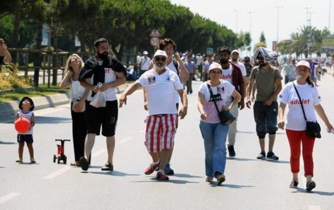 Adalet Yürüyüşü'ne damga vuran fotoğraflar 12