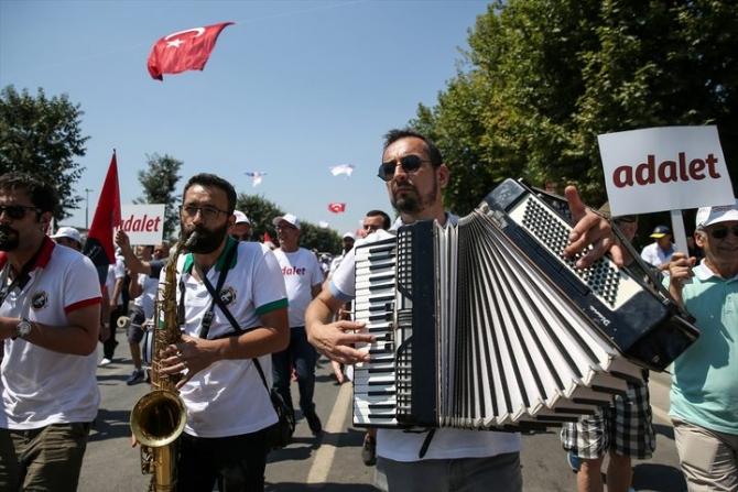 Adalet Yürüyüşü'ne damga vuran fotoğraflar 34