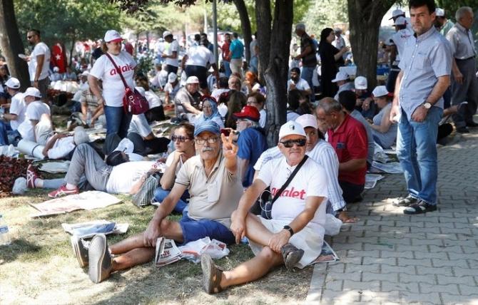 Adalet Yürüyüşü'ne damga vuran fotoğraflar 42