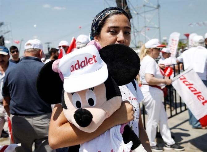 Adalet Yürüyüşü'ne damga vuran fotoğraflar 46