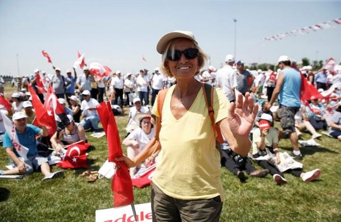 Adalet Yürüyüşü'ne damga vuran fotoğraflar 47