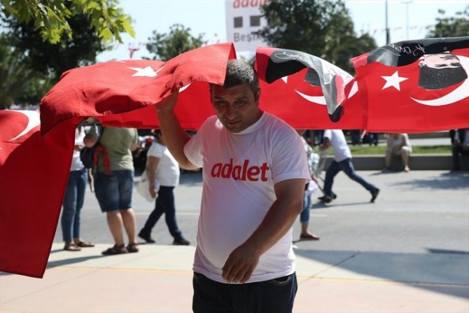 Adalet Yürüyüşü'ne damga vuran fotoğraflar 51