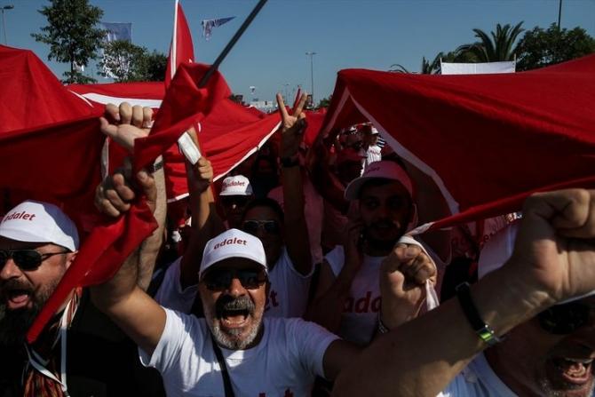 Adalet Yürüyüşü'ne damga vuran fotoğraflar 53