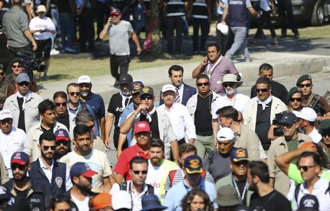 Adalet Yürüyüşü'ne damga vuran fotoğraflar 55