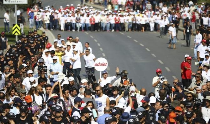 Adalet Yürüyüşü'ne damga vuran fotoğraflar 56