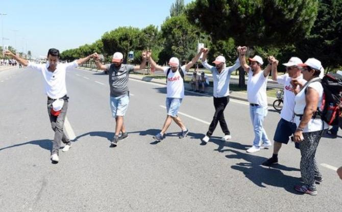 Adalet Yürüyüşü'ne damga vuran fotoğraflar 6