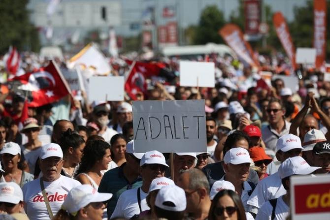 Adalet Yürüyüşü'ne damga vuran fotoğraflar 65
