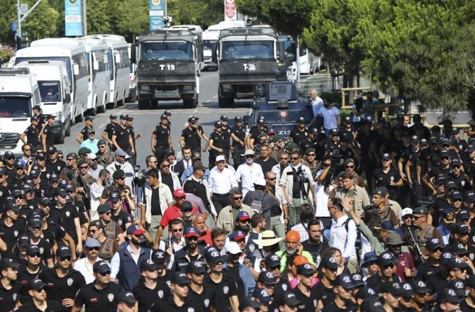 Adalet Yürüyüşü'ne damga vuran fotoğraflar 68
