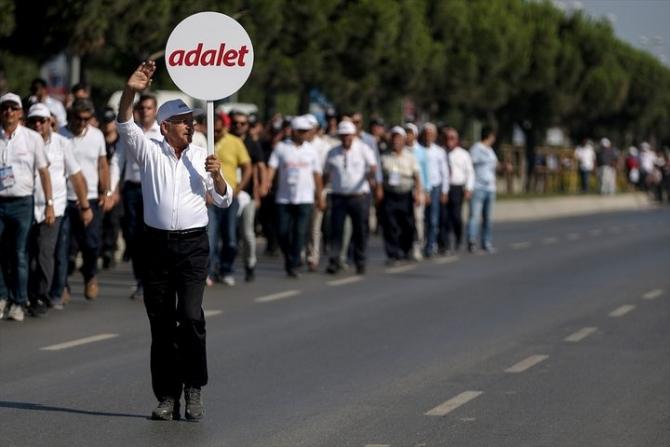 Adalet Yürüyüşü'ne damga vuran fotoğraflar 72