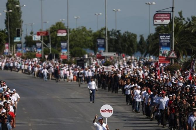 Adalet Yürüyüşü'ne damga vuran fotoğraflar 77