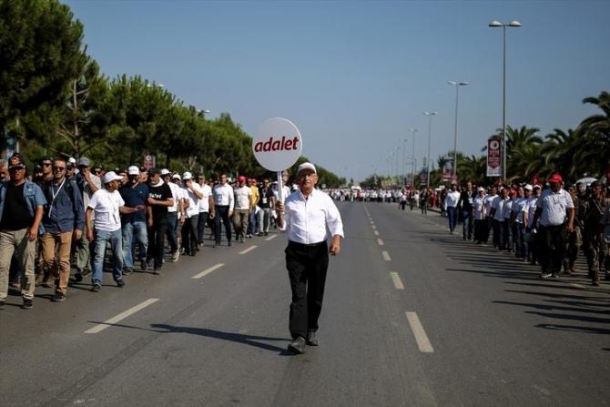 Adalet Yürüyüşü'ne damga vuran fotoğraflar 81