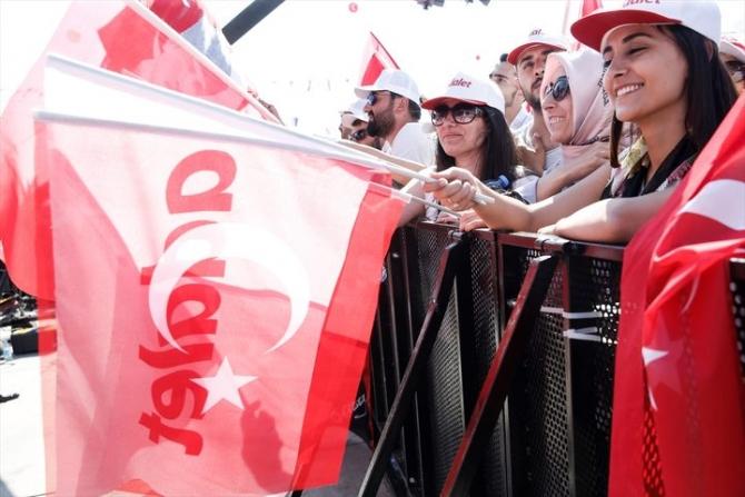 Adalet Yürüyüşü'ne damga vuran fotoğraflar 84