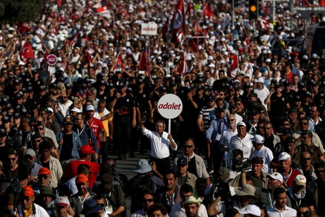 Adalet Yürüyüşü'ne damga vuran fotoğraflar 88